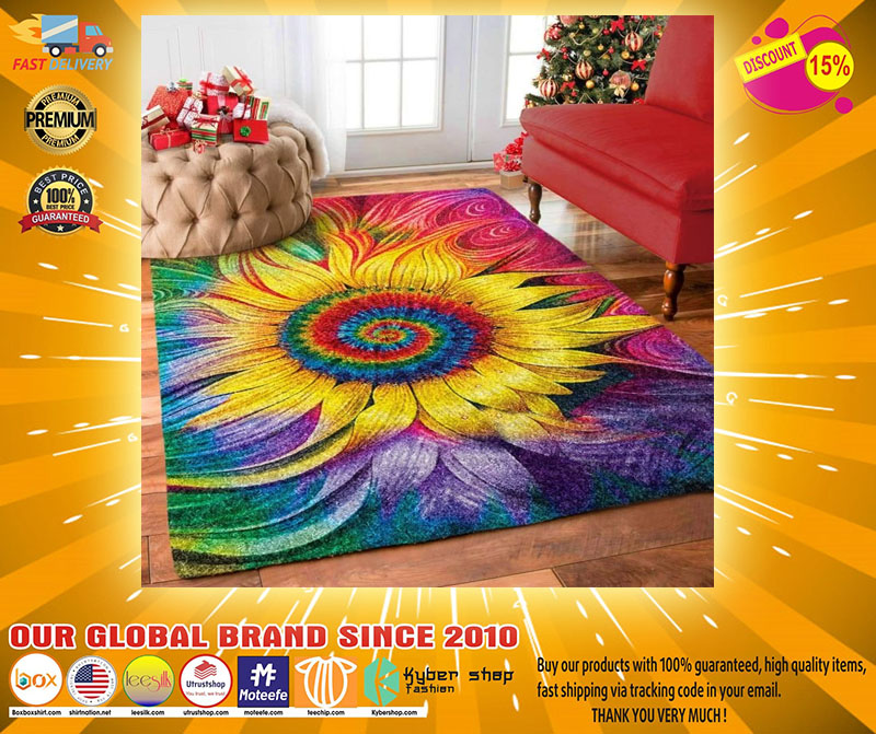 Hippie Sunflower rug2