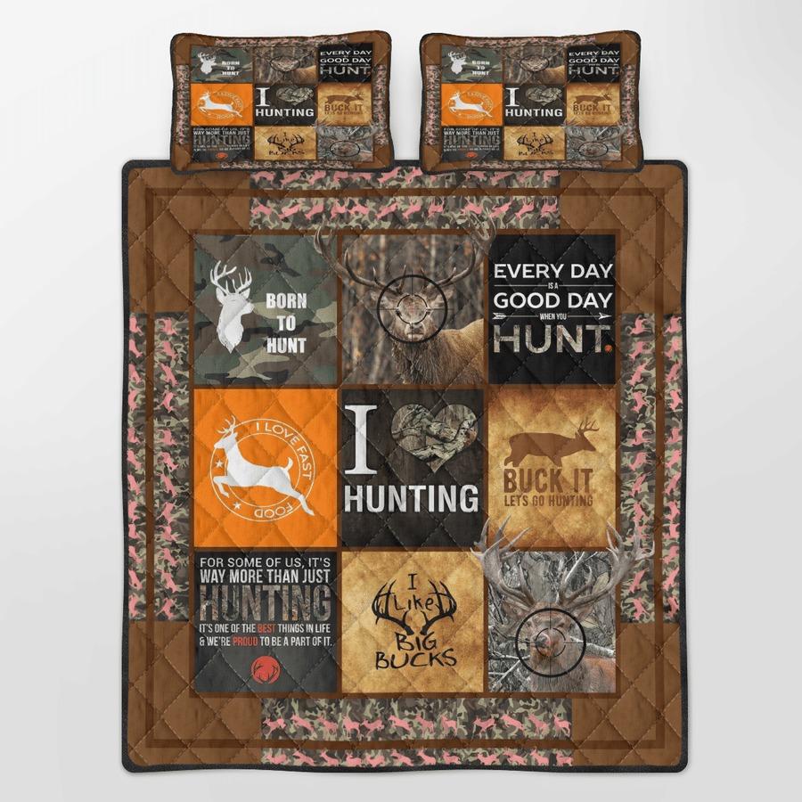 Hunting Deer bedding set5