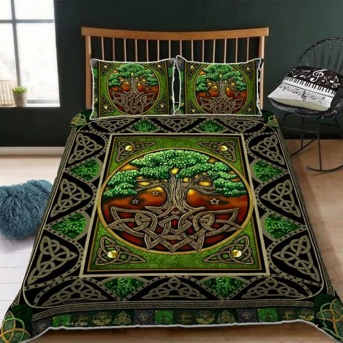 irish celtic tree of life bedding set2