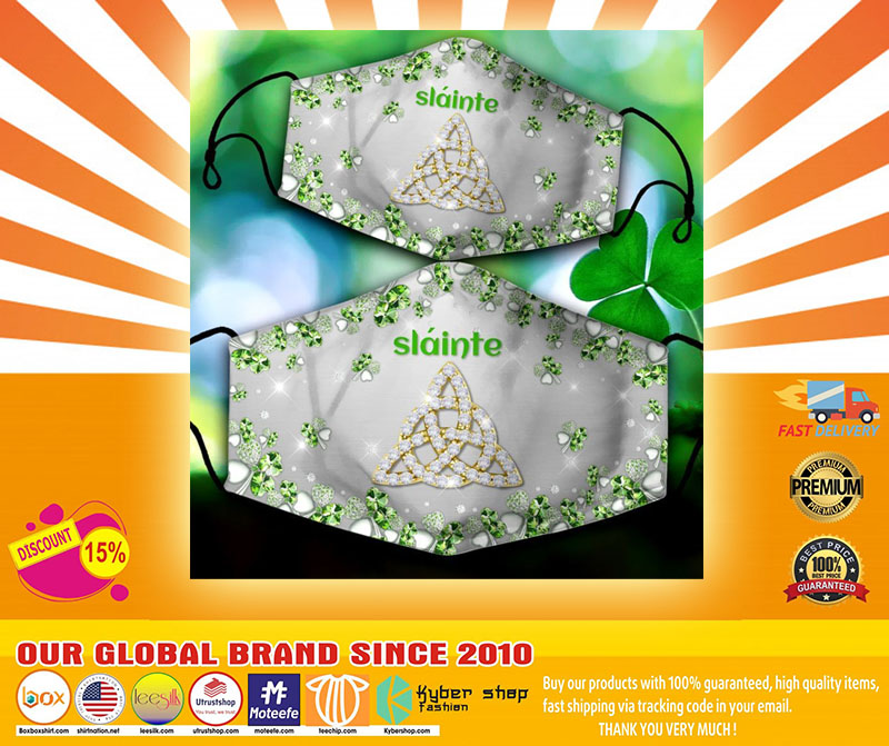 Irish Slaine face mask4