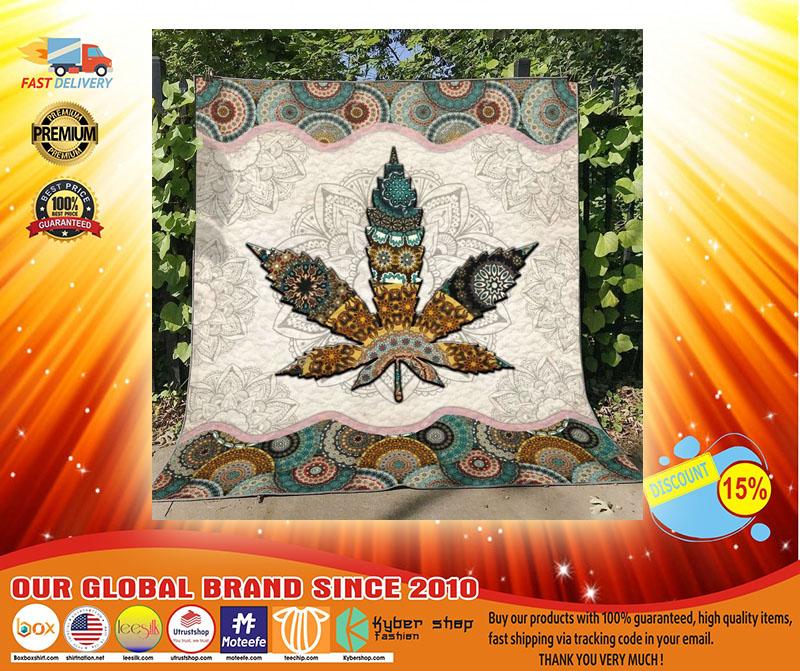Mandala weed blanket32