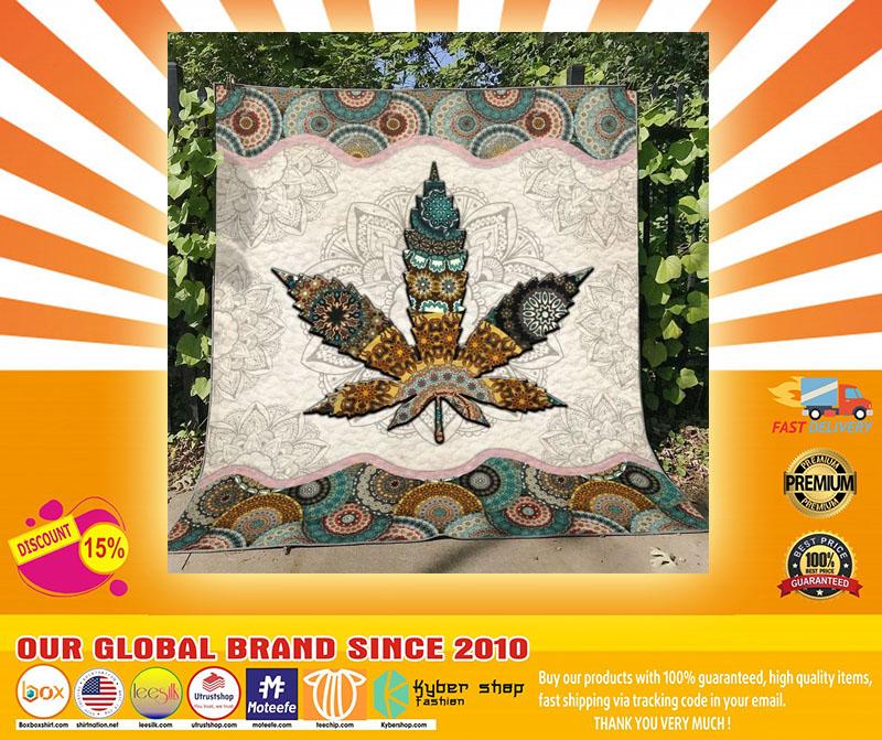 Mandala weed blanket4