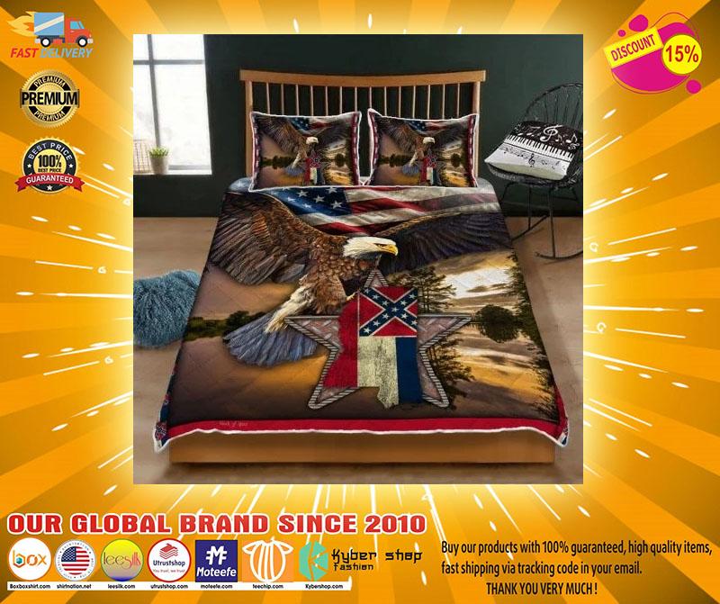 Mississippi eagle bedding set4