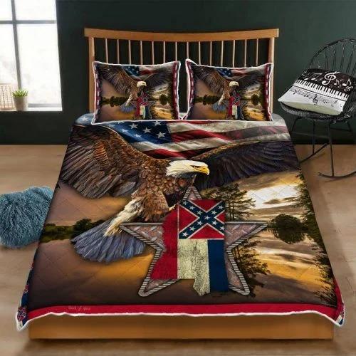 Mississippi eagle bedding set3