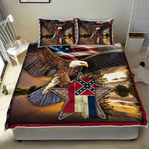 Mississippi eagle bedding set2