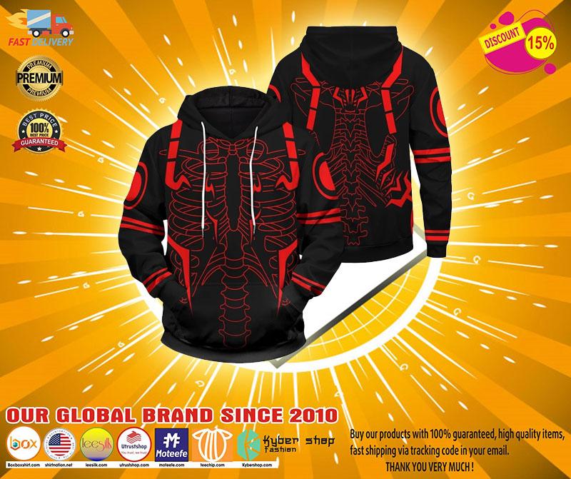 Rib Sukuna 3d over print hoodie4