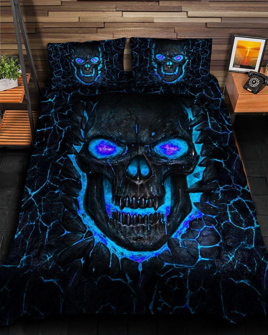 Skull fire bedding set7