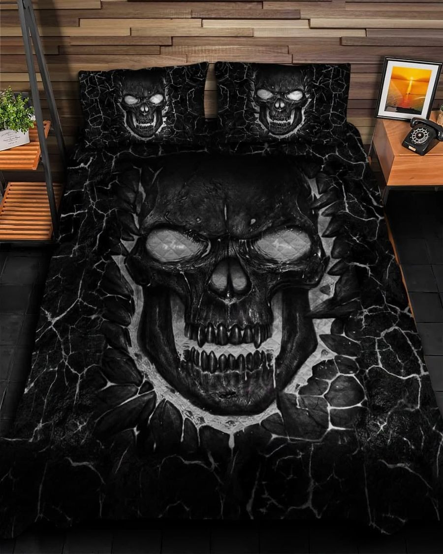 Skull fire bedding set6