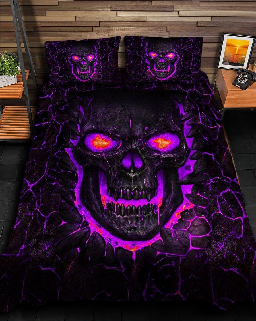 Skull fire bedding set5