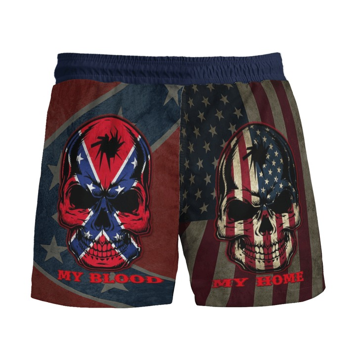 Southern American flag My home my blood pant4