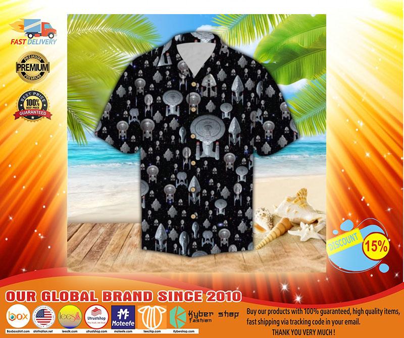 Spaceship hawaiian shirt3