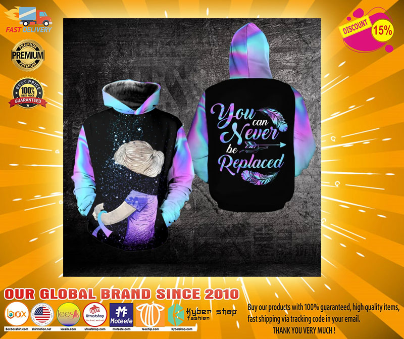 Suicide Prevention Awareness You can never be replaced 3D hoodie2