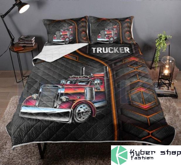 Trucker bedding set