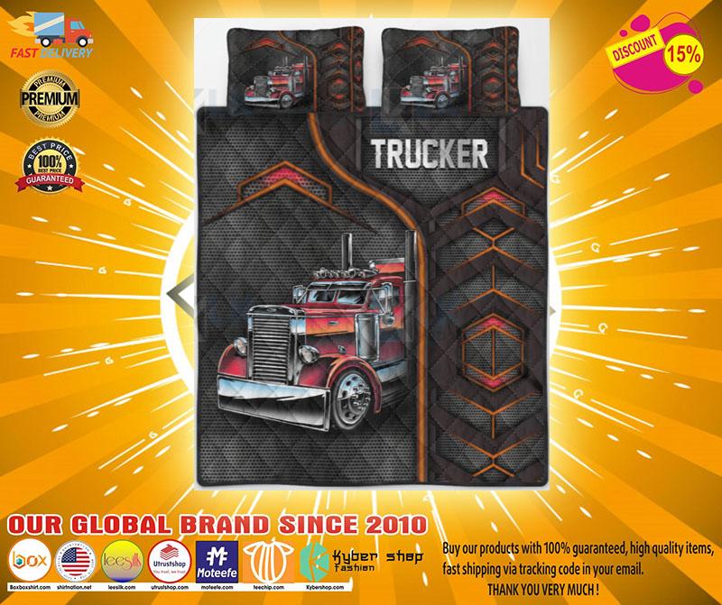 Trucker bedding set2