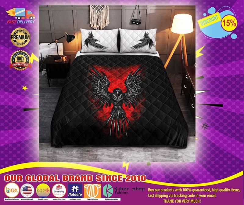 Viking raven bedding set11