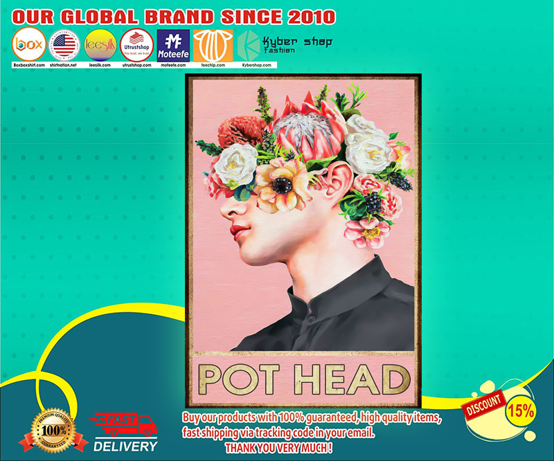 Boy man pot head poster 4
