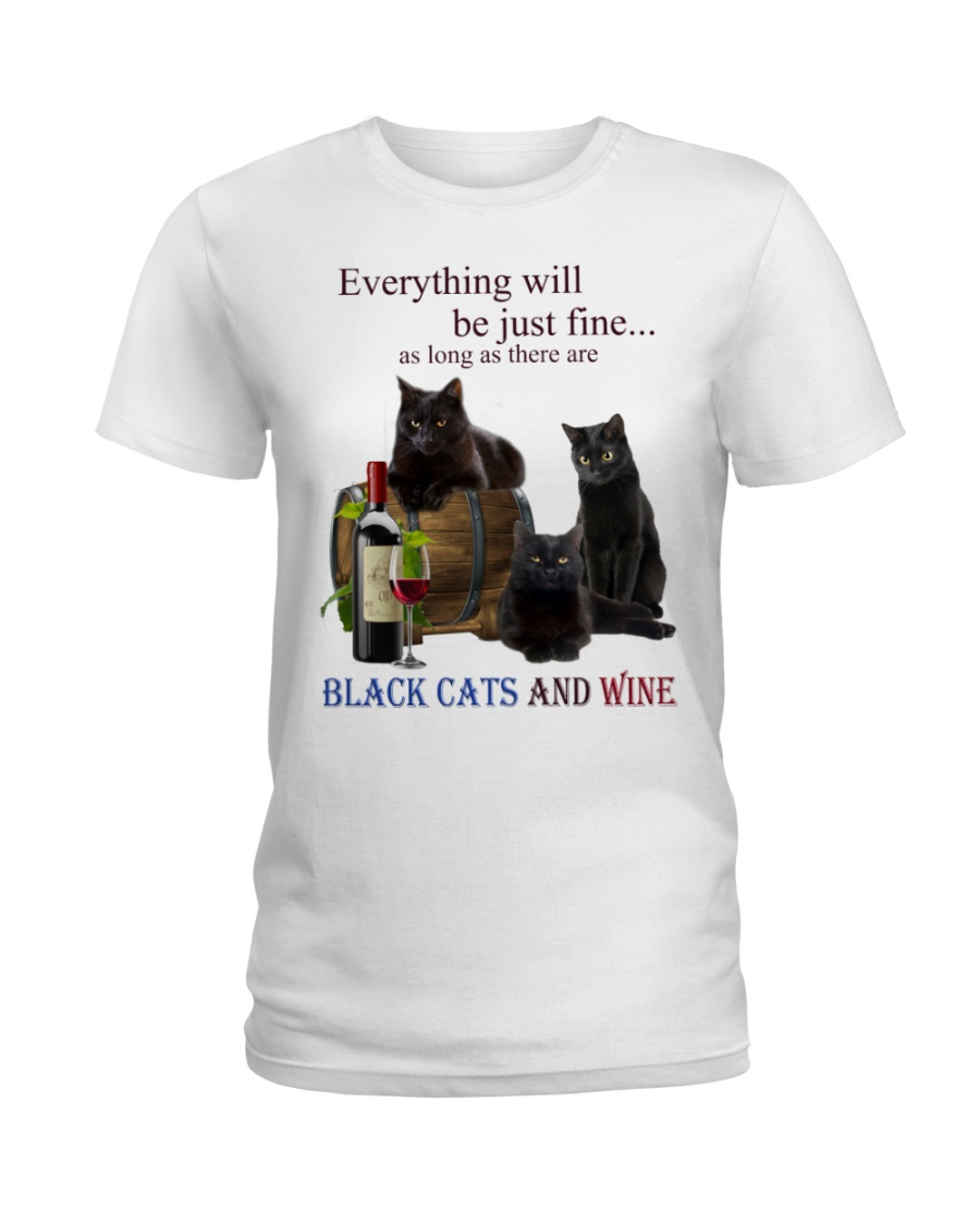 Cat Everything Will Be Just Fine As Long As There Are Shirt6