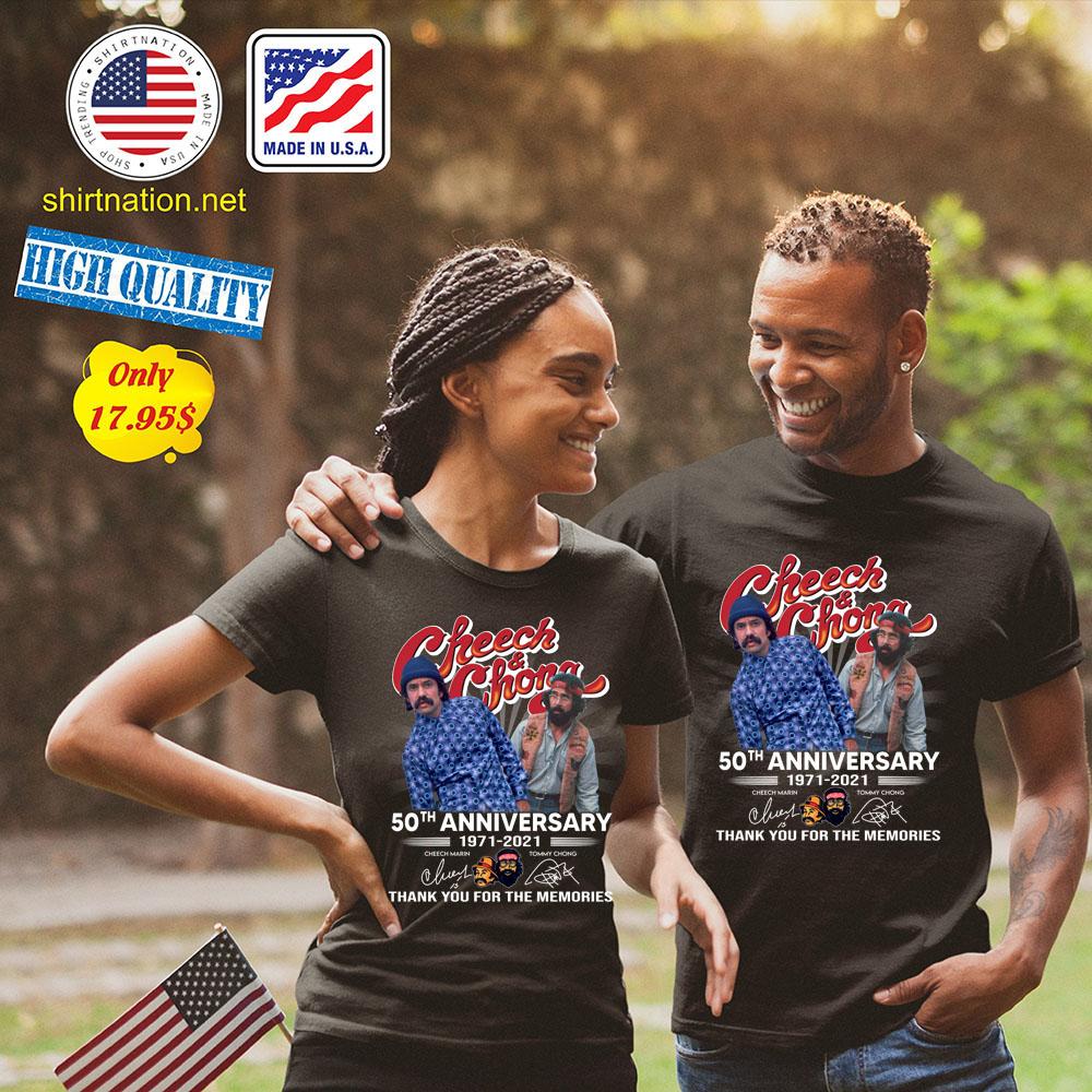 Cheech and Chong 50th anniversary 1971 2021 Shirt