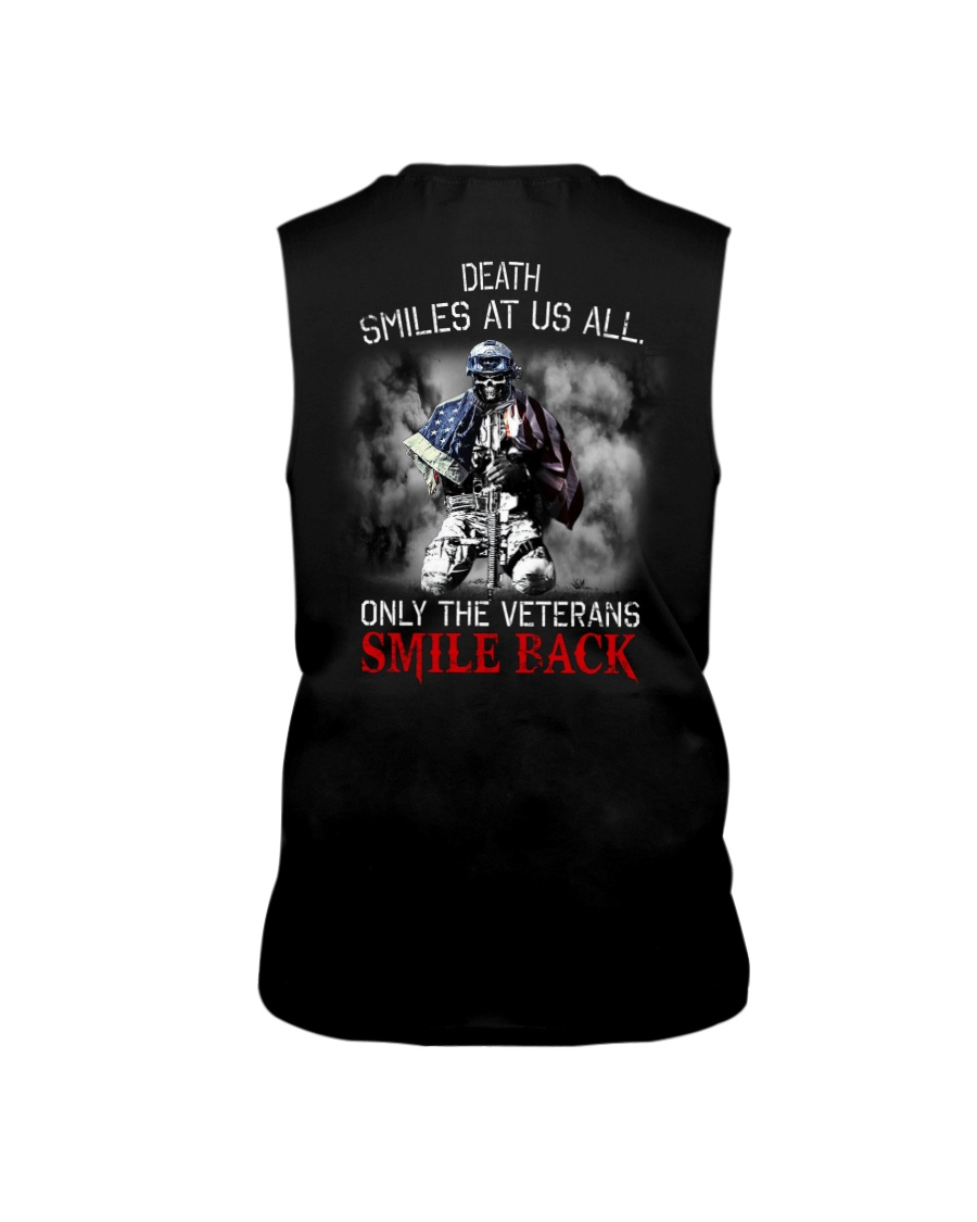 Death Smiles At Us All Only The Veterans Smile Back Shirt6