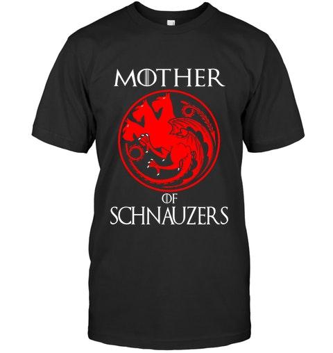 Dragon Mother of Schnauzers Shirt