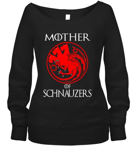 Dragon Mother of Schnauzers Shirt2