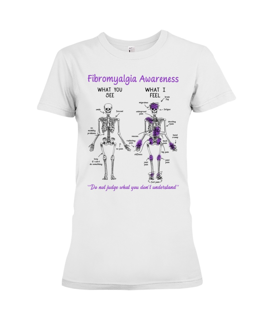 Fibromyalgia Awareness What You See Do Not Judge What You Dont Understand Shirt4