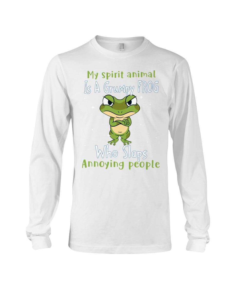 Frog My spirit Animal Is A Grumpy Frog Who Slaps Annoying People Shirt7