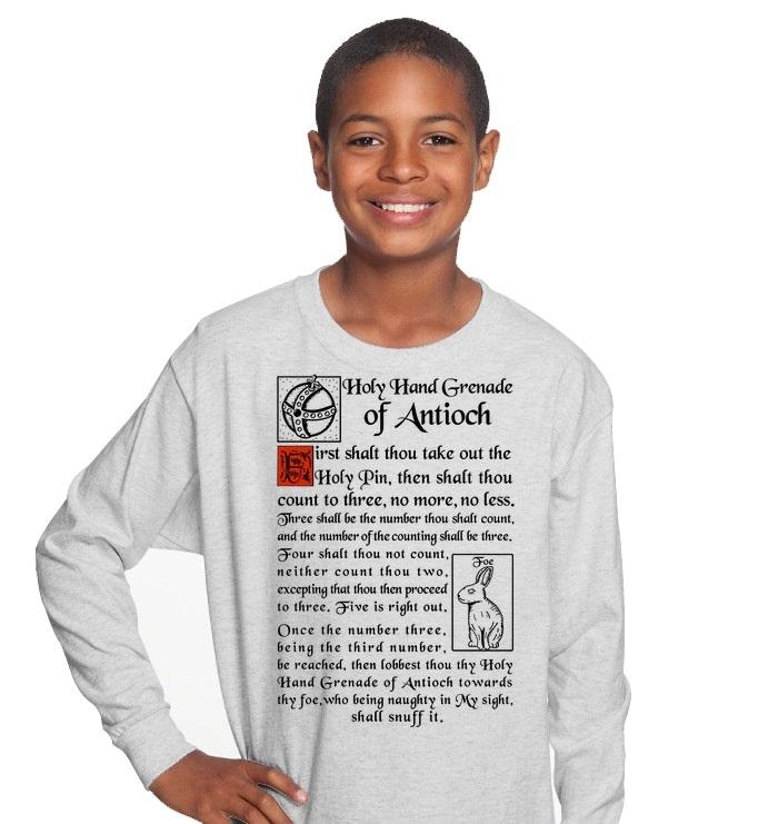 God Holy Hand Grenade Of Antioch Shirt 155