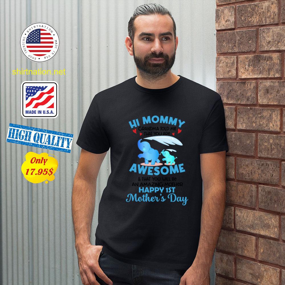 Hi mommy Grandma told me that you are awesome Shirt2