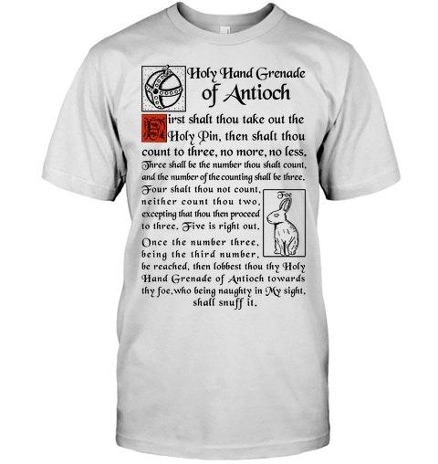 Holy Hand Grenade Of Antioch Shirt as 1