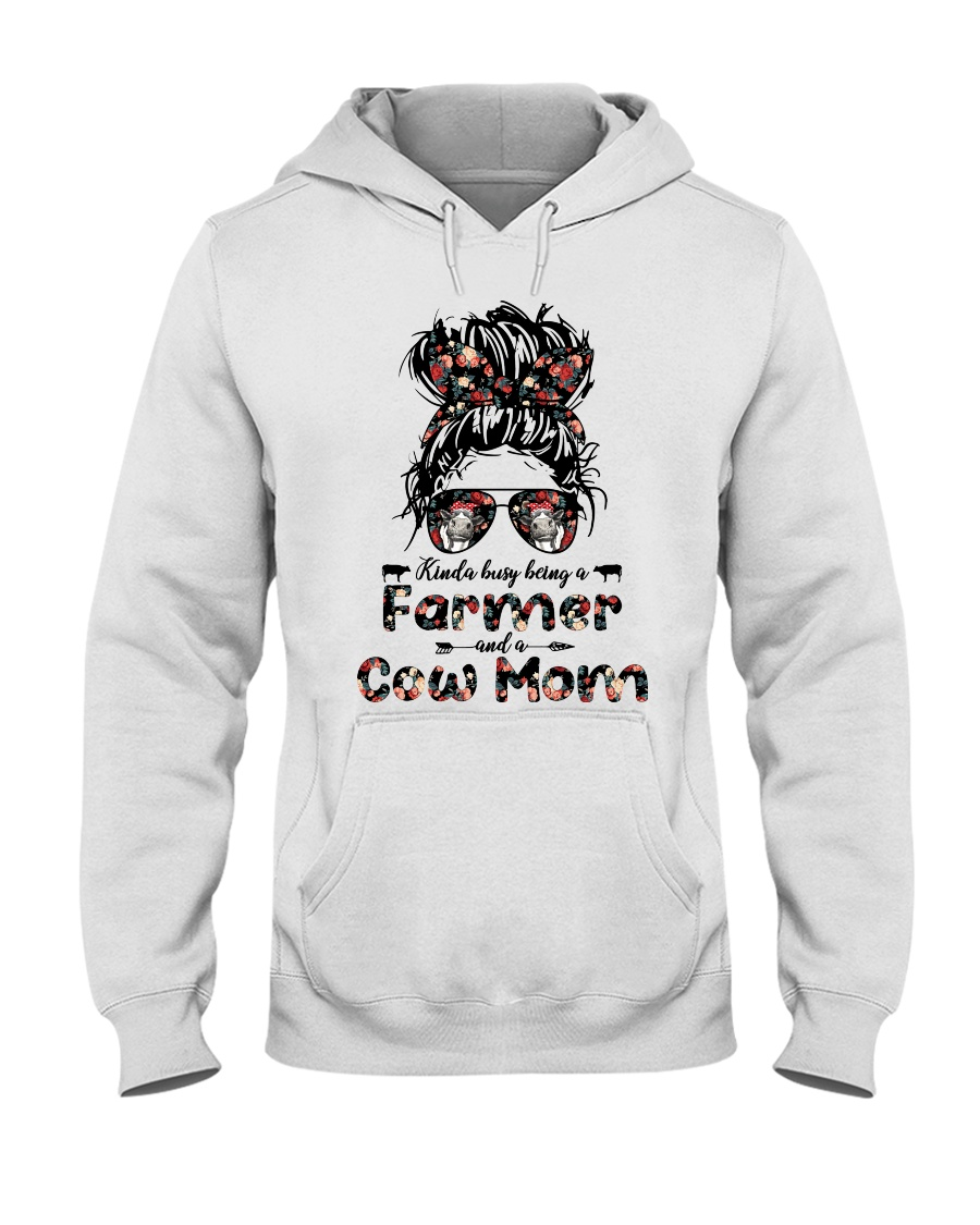 Kinda Busy Being A Farmer And A Cow Mom Shirt1