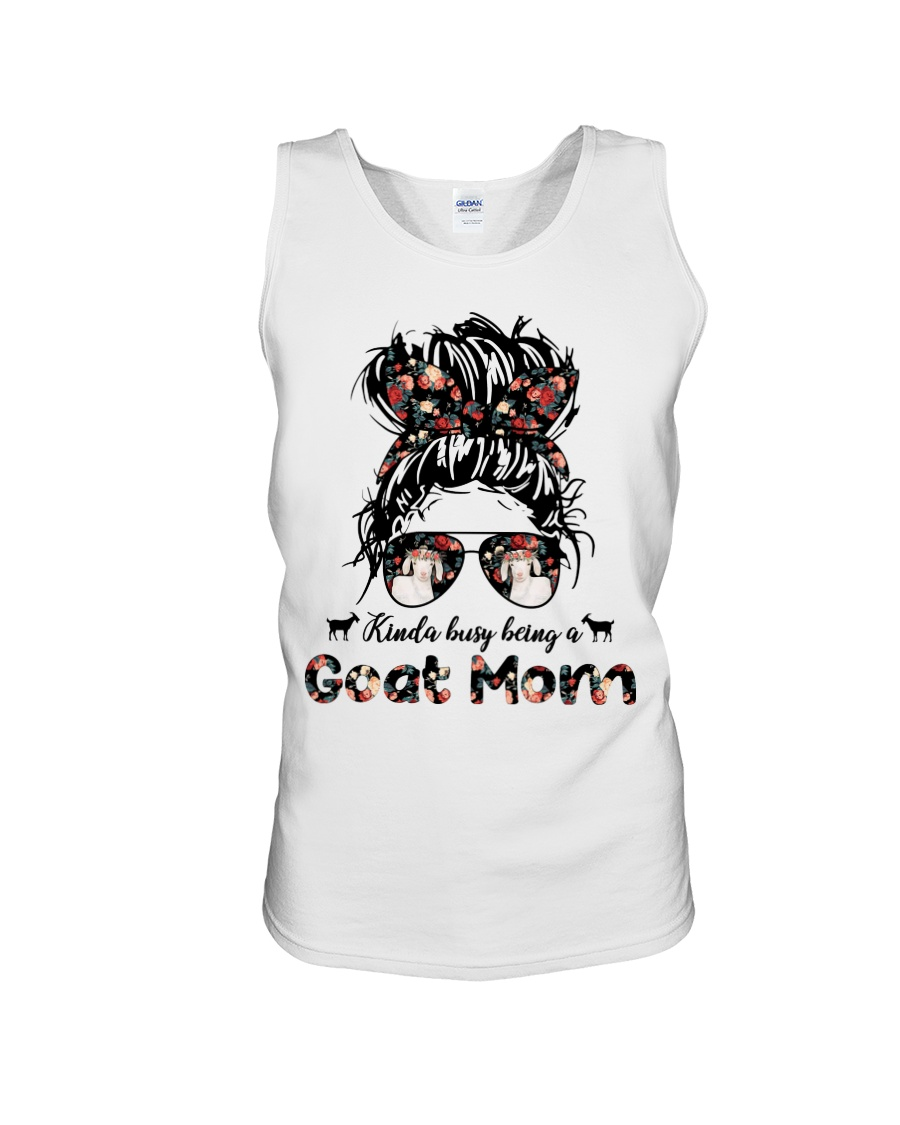 Kinda Busy Being A Goat Mom Shirt 5