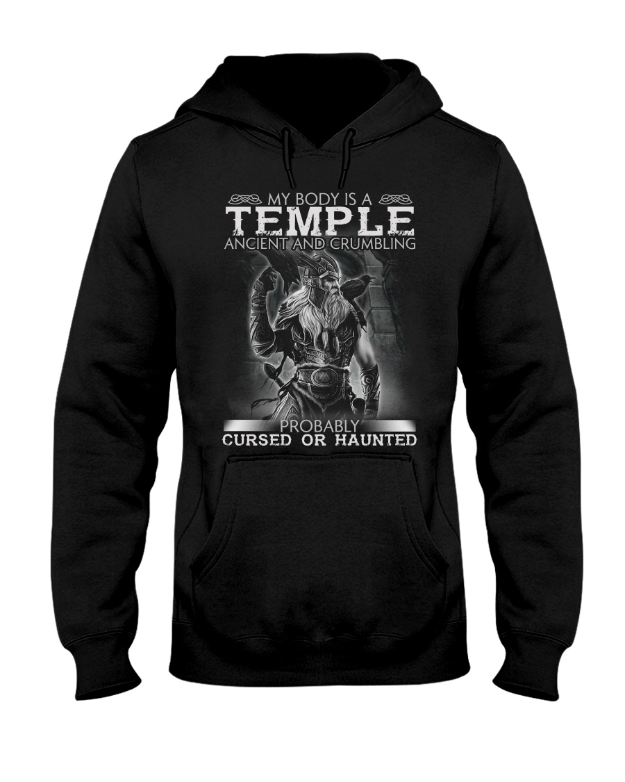 My Body Is A Temple Ancient And Crumbling Shirt2