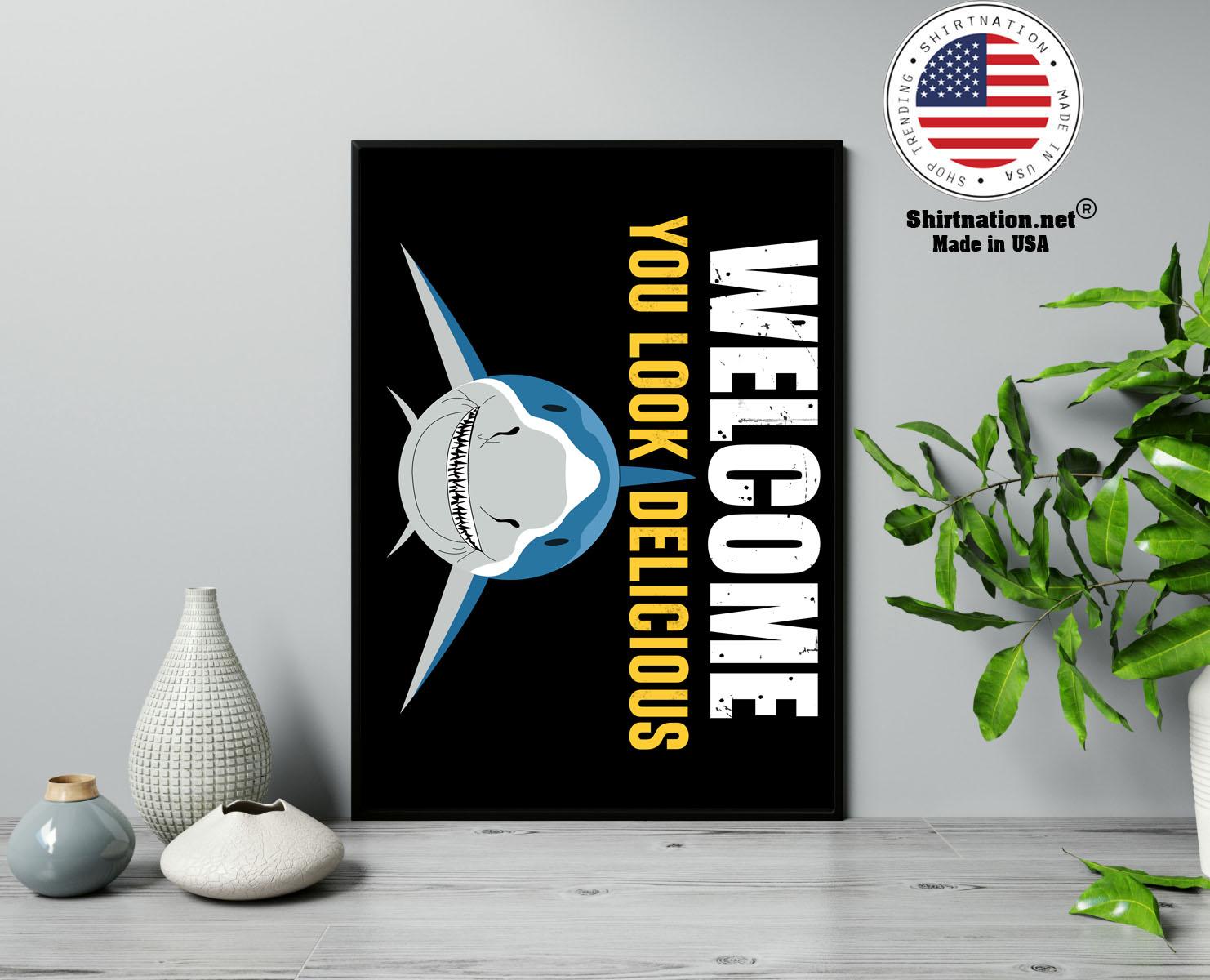 Shark welcome you look delicious doormat 13