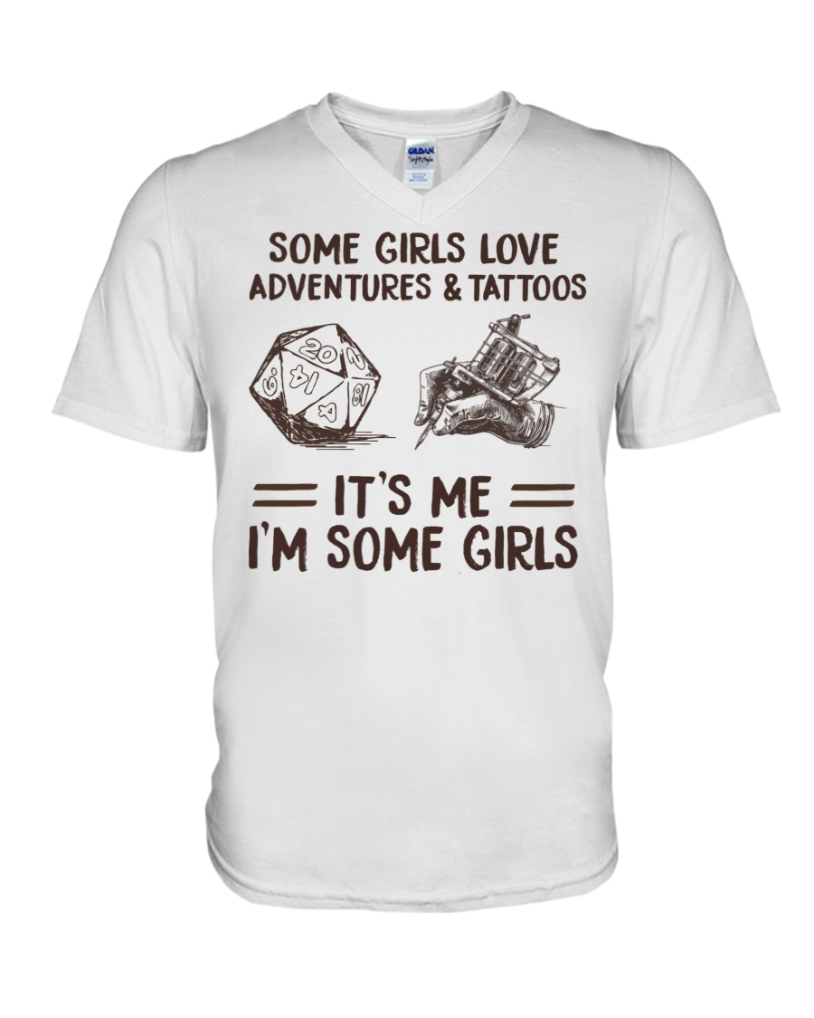 Some Girl Love Adventures And Tattoos Its Me Im Some Girls Shirt5