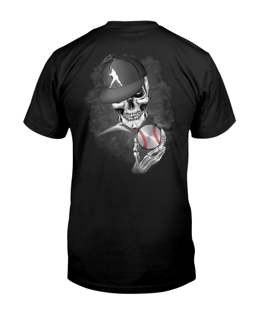 The Skeleton Is Playing Baseball Shirt