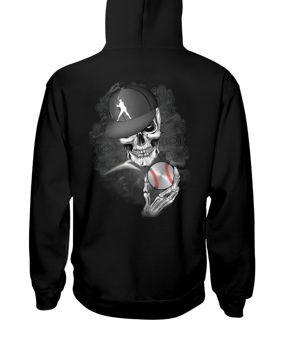 The Skeleton Is Playing Baseball Shirt0