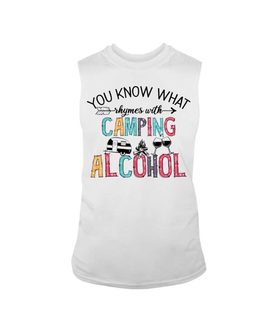 You Know What Camping Alcohol Shirt6