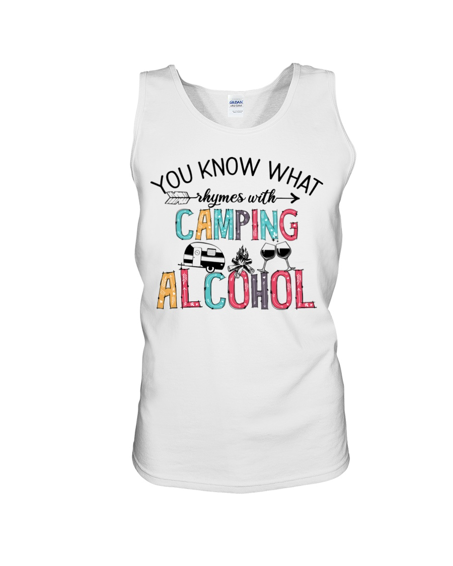 You Know What Camping Alcohol Shirt8