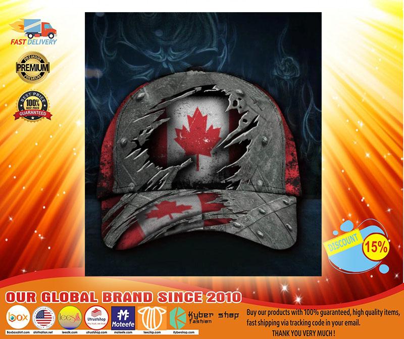 Canada flag classic cap3