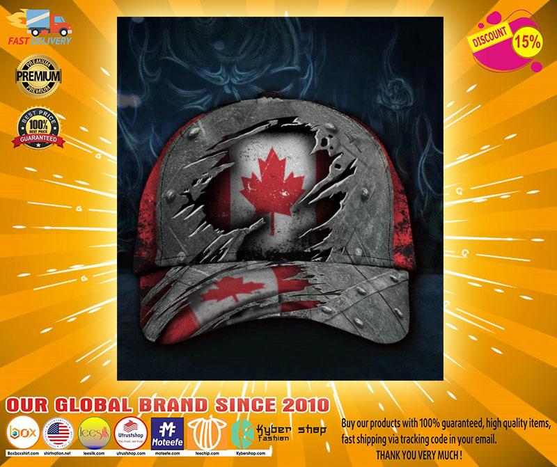 Canada flag classic cap2
