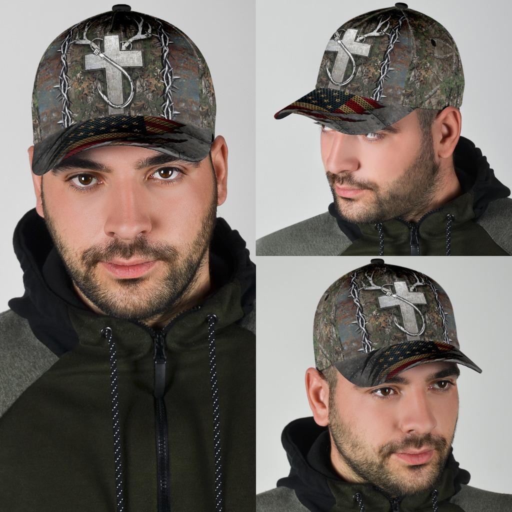 Christian hunting fishing lover cap4