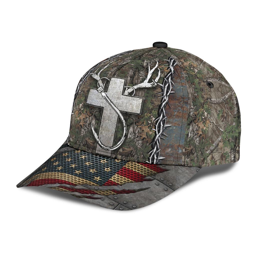Christian hunting fishing lover cap2