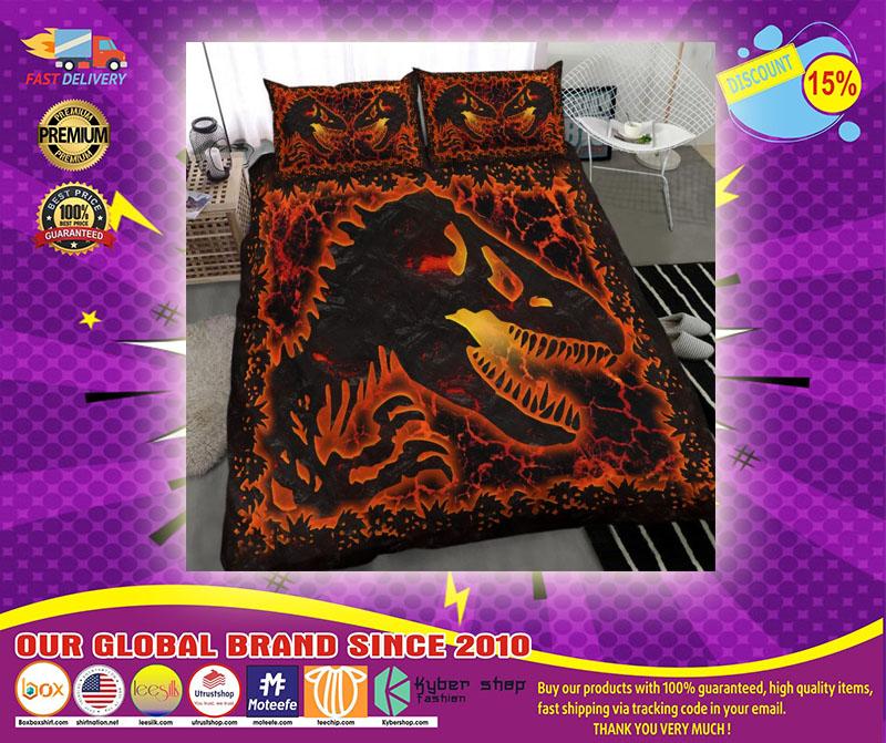 Dinosaur lava bedding set4