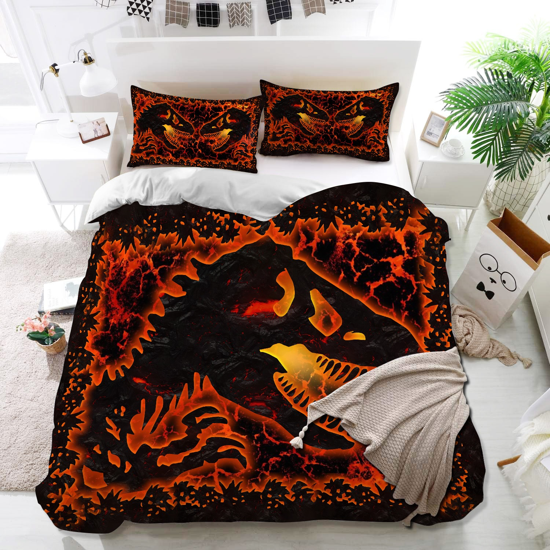 Dinosaur lava bedding set3