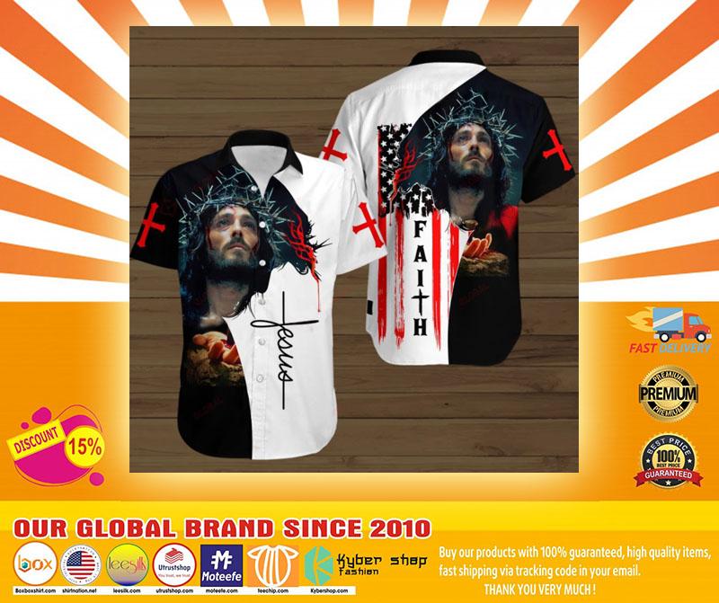 Faith jesus god hawaiian shirt4