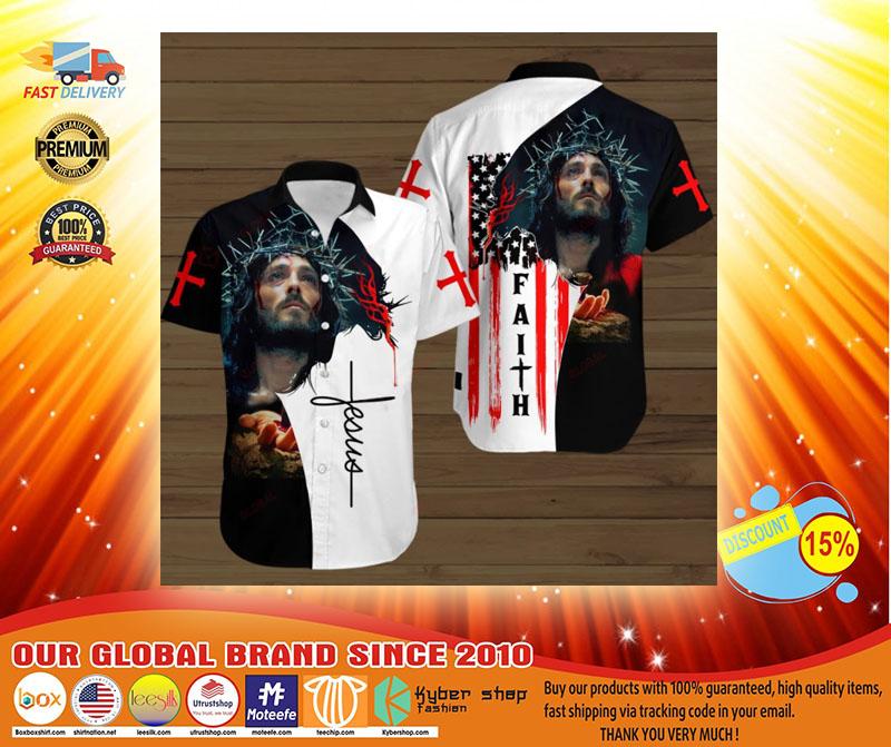 Faith jesus god hawaiian shirt3
