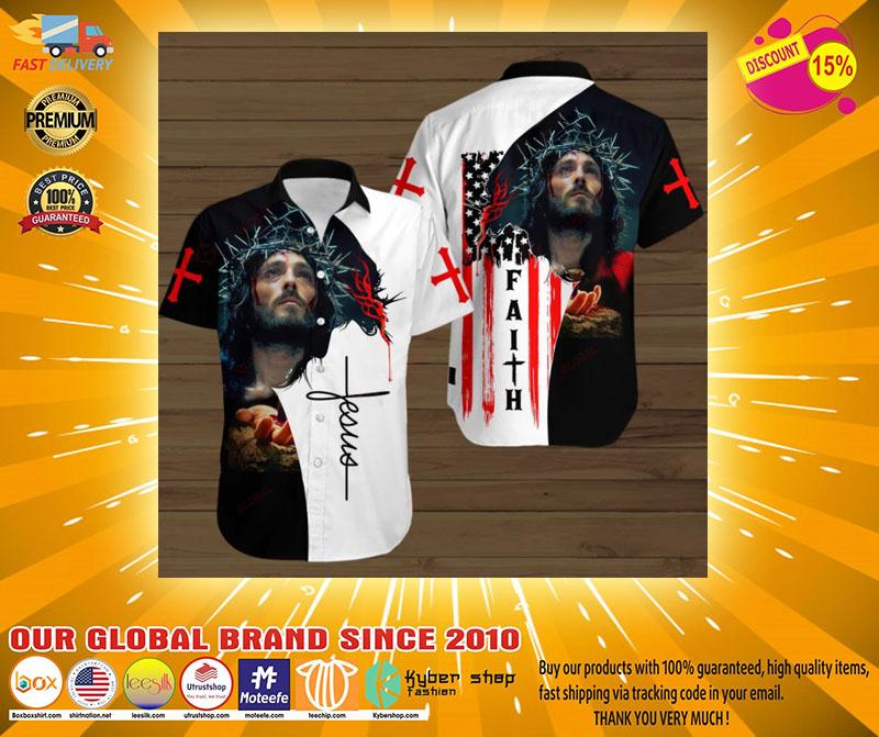 Faith jesus god hawaiian shirt2