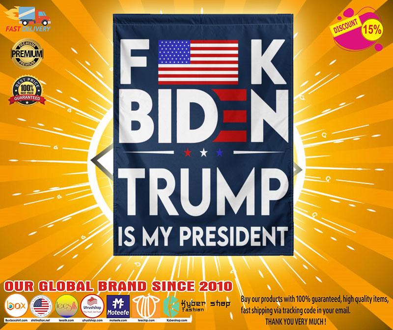 FamericanK biden trump is my president flag4
