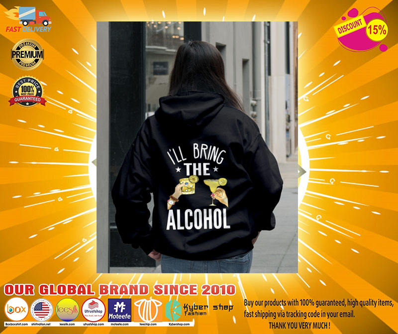 Ill bring the alcohol 3D hoodie2
